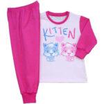 Téli és nyári kislány pizsama modellek
